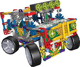KNex 4 Wheel Drive Truck Building Set Figurines and Sets