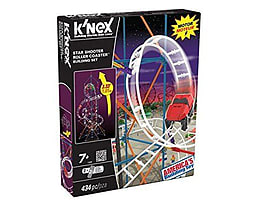 KNex Star Shooter Roller Coaster Building Set Figurines and Sets