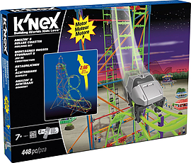 KNex Amazin 8 Roller Coaster Building Set Figurines and Sets