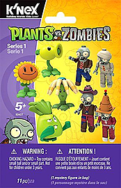 KNex Plants vs Zombies Mystery Blind Bags Figurines and Sets
