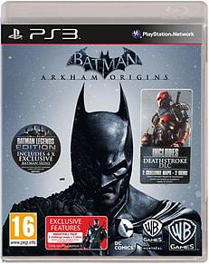 Batman Arkham Origins - Legend Edition & Knightfall & Deathstroke DLC (Playstation 3) PS3