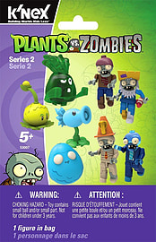 KNex Plants vs Zombies Mystery Blind Bags Series 2 Figurines and Sets