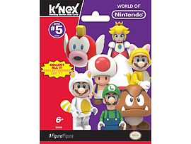 KNex Super Mario Series 5 Blind Bags Figurines and Sets