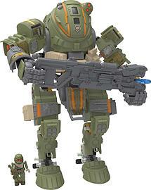 KNex Titanfall Militia Ogre Titan Building Set Figurines and Sets