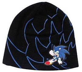 Sonic Rubber Print Beanie Clothing