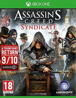Assassin's Creed: Syndicate Xbox One Cover Art