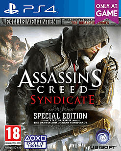 Assassin's Creed Syndicate Special Edition - Only At GAME PlayStation 4 Cover Art