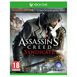 Assassin's Creed Syndicate Special Edition Xbox One Cover Art
