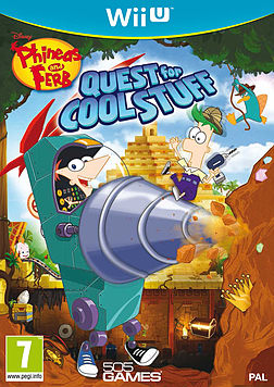 Phineas and Ferb : Quest for Cool Stuff (Nintendo Wii U) Wii U