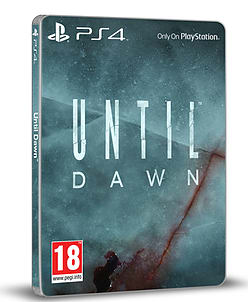 Until Dawn Steelbook Edition PlayStation 4 Cover Art