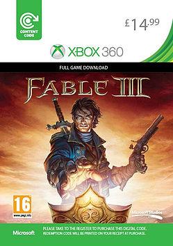 Fable III Xbox Live