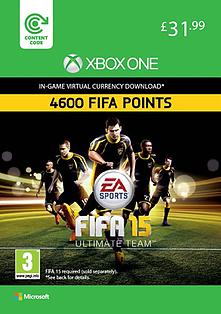 FIFA 15: 4,600 Points Xbox Live