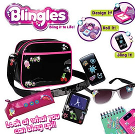 Blingles Bling Studio Figurines and Sets