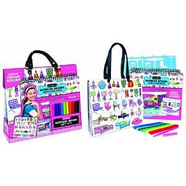 Fa Int Design Tote W/Portfolio Figurines and Sets