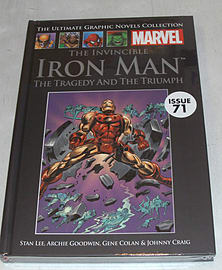 Iron Man: The Tragedy and the Triumph (Marvel Graphic Novel Collection issue 71) Books