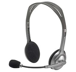 Logitech Stereo Headset H110 PC