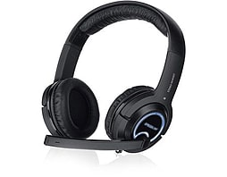 Speedlink Xanthos Stereo Console Gaming Headset, Black Sl-4475-bk PC