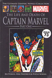 The Life and Death of Captain Marvel Part One (Marvel Graphic Novel Collection issue 73) Books