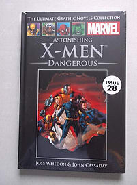 Astonishing X-Men: Dangerous (Official Marvel Graphic Novel Collection issue 28) Books