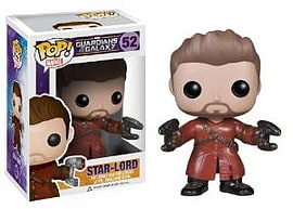 Guardians Of The Galaxy- Star-Lord (Unmasked) POP Vinyl Figure (52) Figurines and Sets