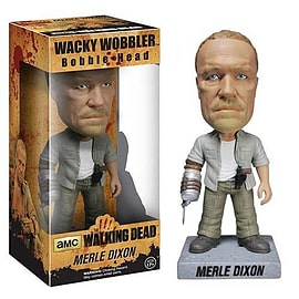 The Walking Dead Merle Dixon Wacky Wobbler Bobble Head Figurines and Sets