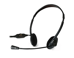 Ngs Ms103 Stereo Multimedia Headset With Microphone, Jack 3.5mm, Black PC