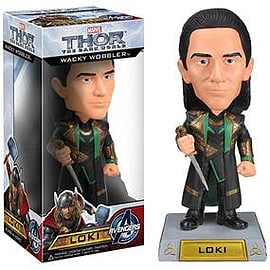 Thor: The Dark World Wacky Wobbler Bobble Head - Loki Figurines and Sets