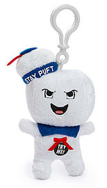 Ghostbusters Stay Puft Marshmallow Man (Angry) Plush Toy / Keychain Figurines and Sets
