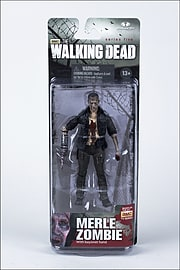 The Walking Dead- Merle Zombie Action Figure Figurines and Sets
