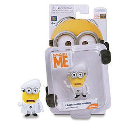 Despicable Me- Lead Singer Minion Action Figure Figurines and Sets