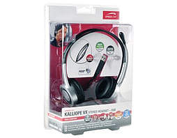 Speedlink Kalliope Vx Usb Stereo Headset, Black/silver PC