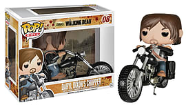 The Walking Dead- Daryl Dixon's Chopper Pop Vinyl Figure (08) Figurines and Sets