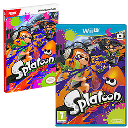 Splatoon with Splatoon Strategy Guide Wii U