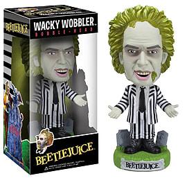 Beetlejuice Wacky Wobbler Bobblehead Figurines and Sets