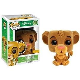Disney lion King- Flocked Simba POP Vinyl Figure (85) Figurines and Sets