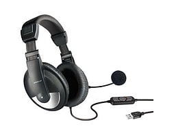 Speedlink Thebe Stereo Usb Headset With Microphone, Black PC
