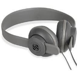 Scosche On Ear Headphones (Grey) with Microphone PC