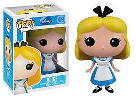 Disney- Alice POP Vinyl Figure (49) Figurines and Sets