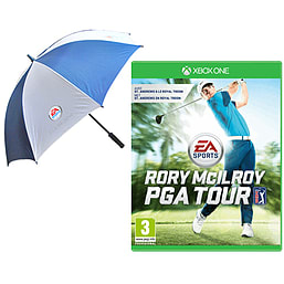 EA SPORTS Rory McIlroy PGA Tour with EA Sports Umbrella - Only at GAME Xbox One