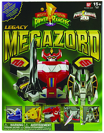 Mighty Morphin Power Rangers Legacy Megazord Figurines and Sets