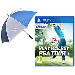 EA SPORTS Rory McIlroy PGA Tour with EA Sports Umbrella - Only at GAME PlayStation 4