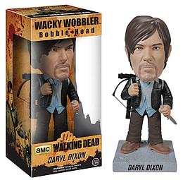 The Walking Dead Daryl Dixon (Biker) Wacky Wobbler Bobble Head Figurines and Sets