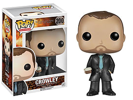 Supernatural- Crowley POP Vinyl Figure (200) Figurines and Sets