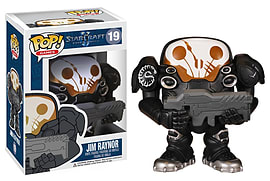 Star Craft Jim Raynor POP Vinyl Figure Figurines and Sets