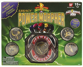 Mighty Morphin Power Rangers Legacy Power Morpher Figurines and Sets