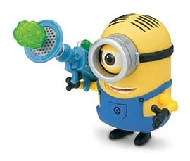Despicable Me- Minion Stuart (With Fart Dart Launcher) Action Figure Figurines and Sets