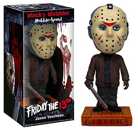 Friday the 13th Wacky Wobbler Bobble Head - Jason Voorhees Figurines and Sets