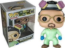 Breaking Bad- Walter White (Green Cook Suit) POP Vinyl Figure (160) Figurines and Sets