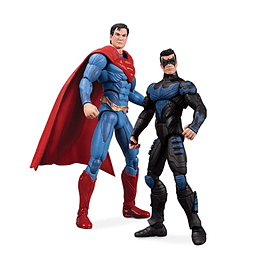 Injustice Nightwing vs Superman Action Figure 2-Pack Figurines and Sets