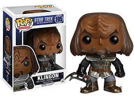 Star Trek- Klingon POP Vinyl Figure (195) Figurines and Sets